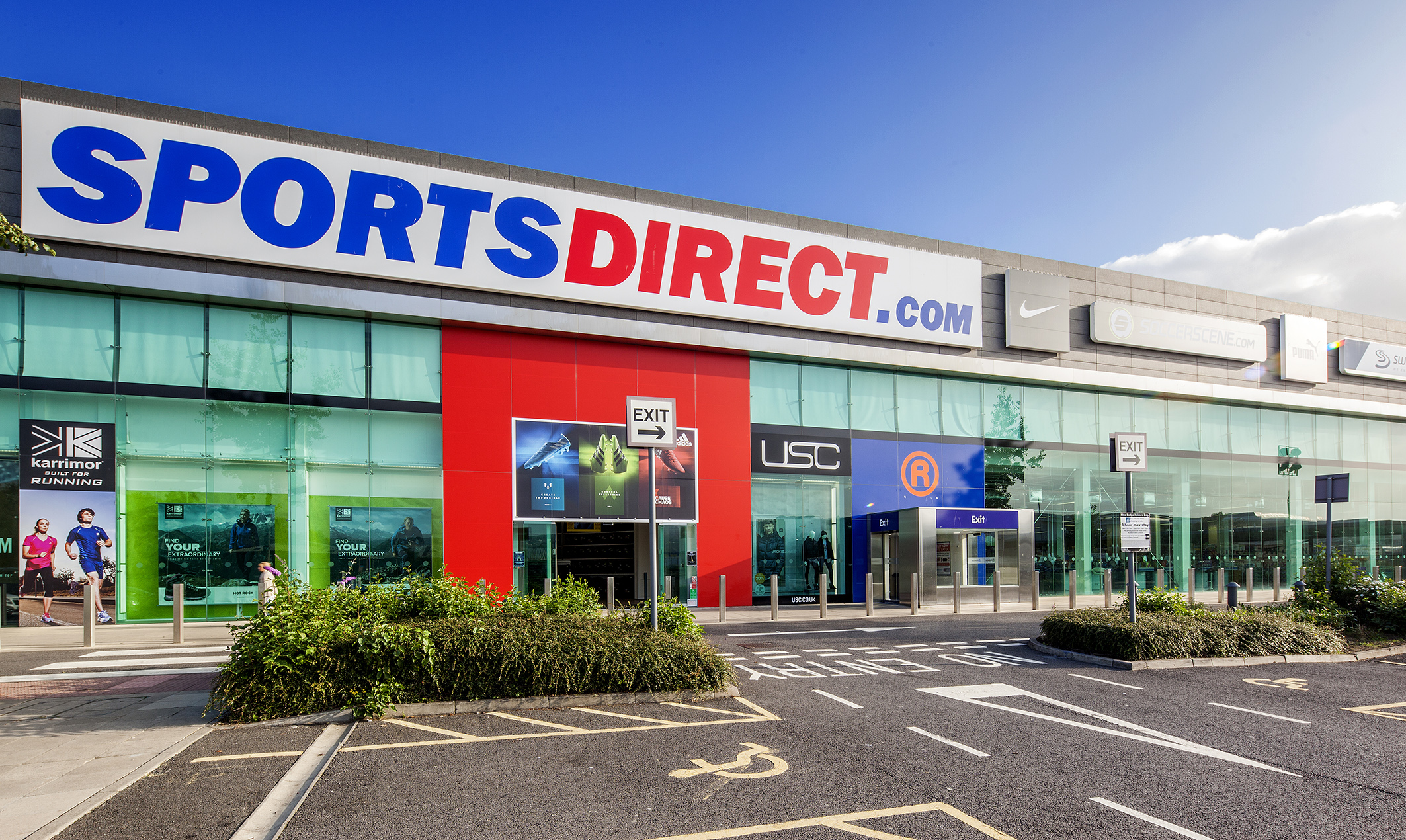 sports direct gateshead