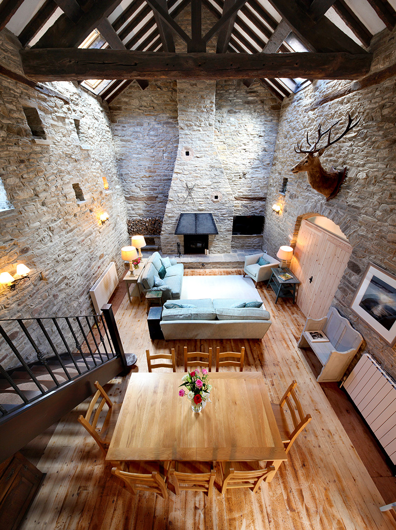 vertical panorama, tilt shift, interior photography, beavers croft, beaver croft